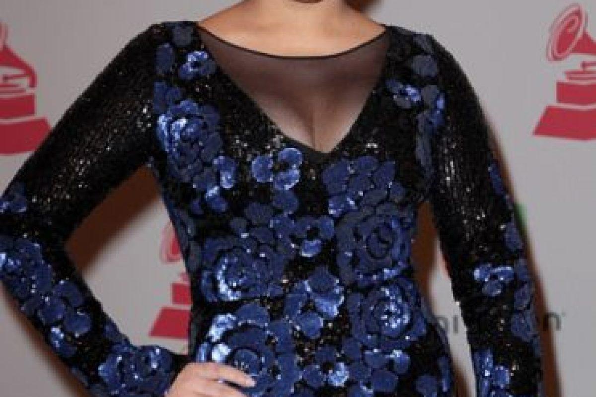 La cantante Cristal Marie, rememorando los años 80 con rosas y lentejuelas Foto:Getty Images. Imagen Por: