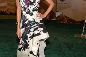 La famosa personalidad de la moda Kika Rocha, en un vestido estampado Foto:Getty Images. Imagen Por:
