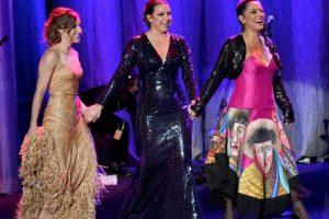 Soledad Pastorutti, Nina Pastori y Lila Downs, cada una con su estilo. Foto:Getty Images. Imagen Por: