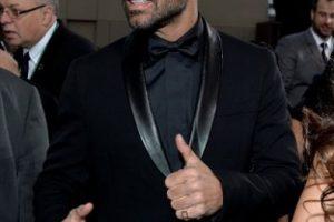 Ricky Martin, impecable de negro. Foto:Getty Images. Imagen Por: