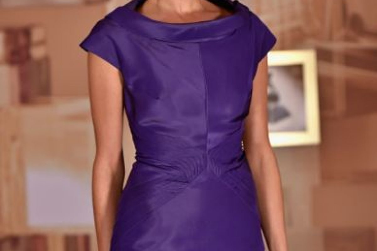 Natalia Jiménez, impecable de morado. Foto:Getty Images. Imagen Por: