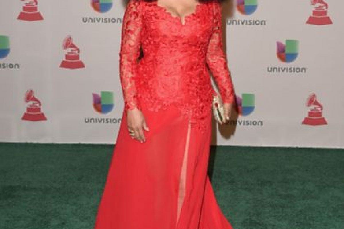Aymee Nuviola, emulando a Gloria Gaynor Foto:Getty Images. Imagen Por: