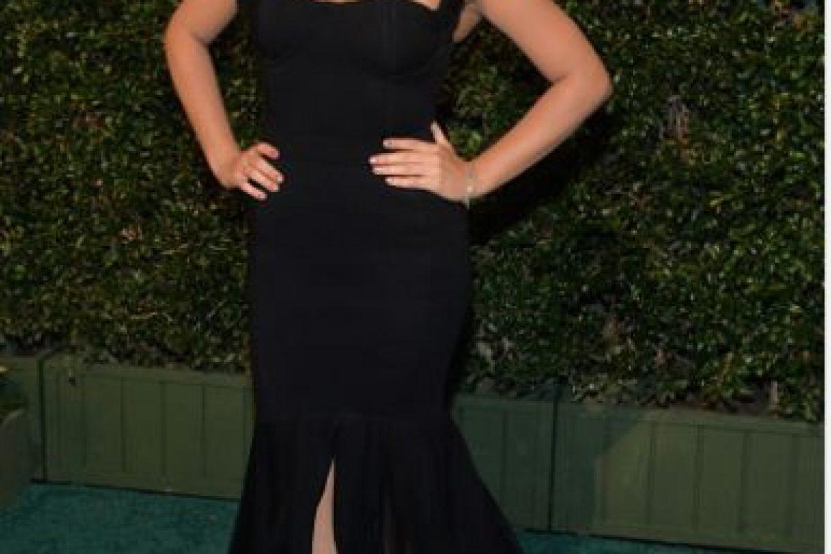 Maite Perroni, en un vestido deslúcido Foto:Getty Images. Imagen Por: