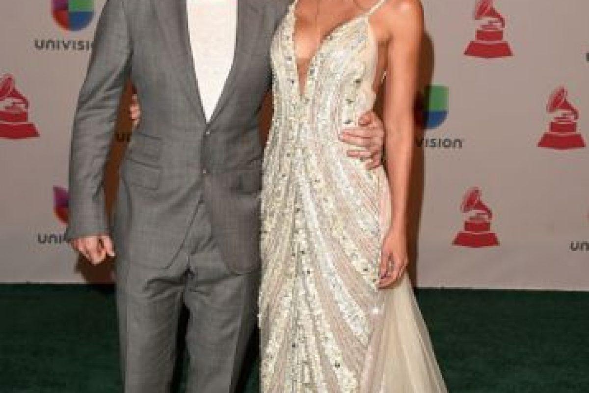 Juanes y Karen Martínez, impecables Foto:Getty Images. Imagen Por: