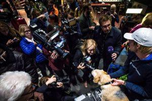 El perro los siguió a todos lados, sin importar qué pasara. Foto:Team Peak Performance/Facebook. Imagen Por: