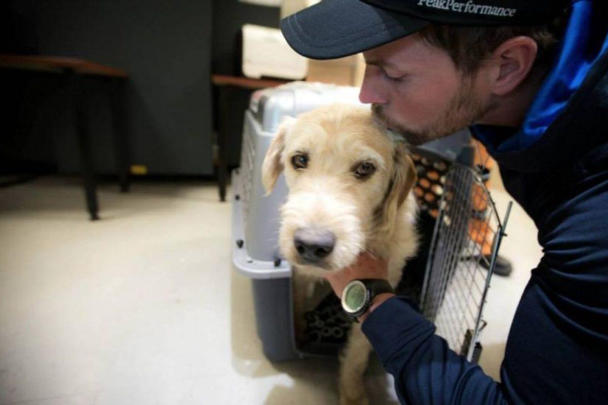 Ellos lo llevaron al veterinario para que se recuperase. Foto:Team Peak Performance/Facebook. Imagen Por: