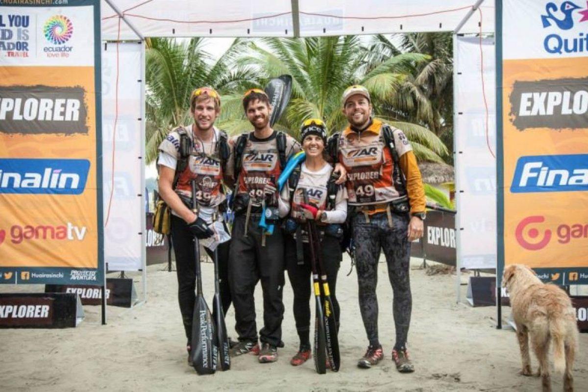 Llegó con ellos. Foto:Team Peak Performance/Facebook. Imagen Por: