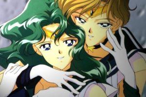 """Haruka y Michiru, de """"Sailor Moon"""" Foto:Toei. Imagen Por:"""