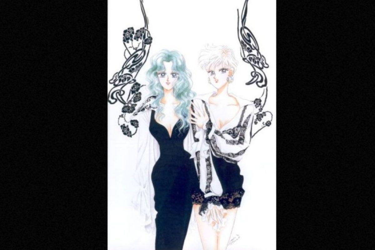 Las dos son la primera pareja gay no reconocida de la TV Foto:Toei. Imagen Por: