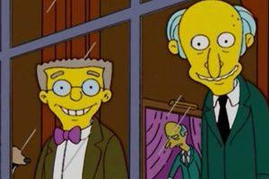 Smithers siempre ha estado enamorado de su jefe, el Sr. Burns Foto:Fox. Imagen Por:
