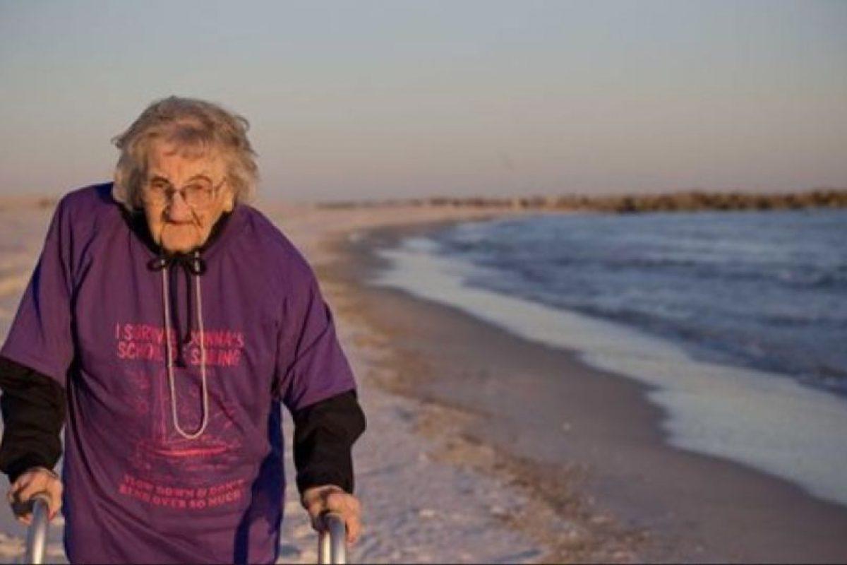 Ella fue gracias a su hogar geriártrico Foto:AP. Imagen Por: