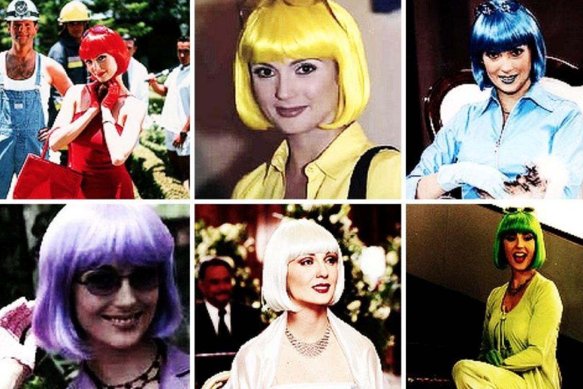 """""""¿Cómo diablos hace para cambiar de outfit y peluca?"""" Foto:Canal de las Estrellas. Imagen Por:"""