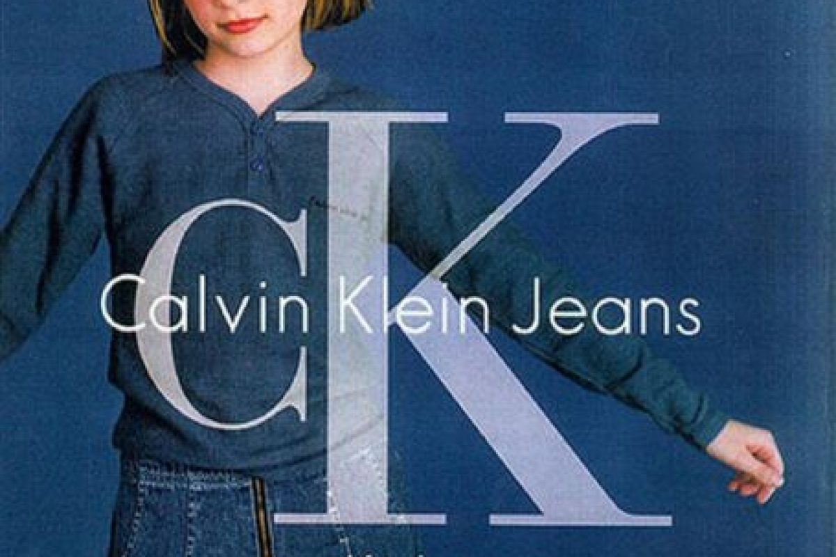 "1992, Antes de ""The OC"" Mischa Barton era la pequeña que promocionaba CK Kids Foto:Calvin Klein. Imagen Por:"