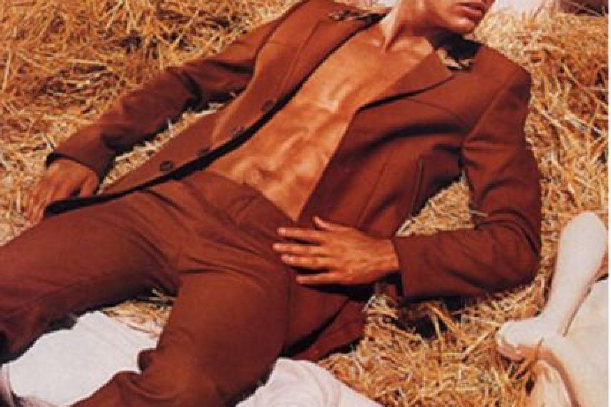 1991, James Marsden fue chico Versace antes de convertirse en estrella de Hollywood. Foto:Versace. Imagen Por: