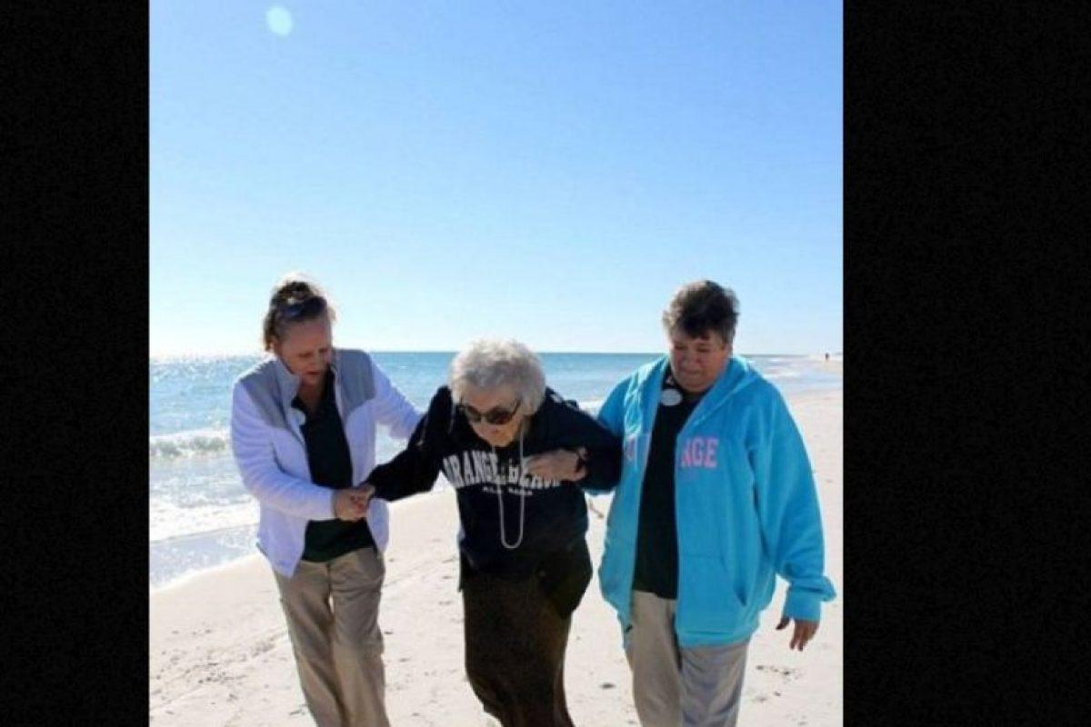 Rudy Holt nunca pudo ir al mar. Foto:Perdido Beach Resort. Imagen Por: