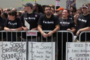 Estos cristianos se disculpan por su homofobia Foto:Tumblr. Imagen Por: