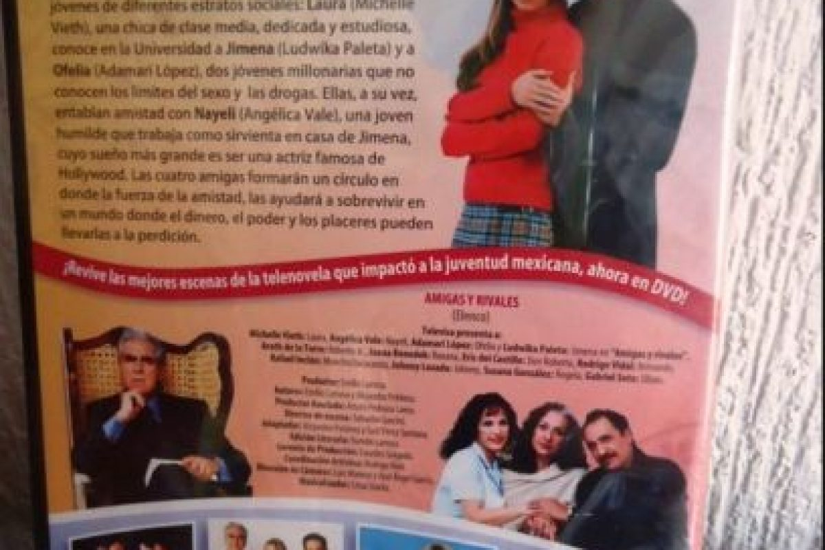 """""""Amigas y Rivales"""": Transmitida en 2001, contaba la historia de cuatro amigas de estratos sociales distintos Foto:Televisa. Imagen Por:"""