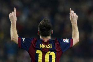 Ayer marco tres goles y se quedó con el récord Foto:AFP. Imagen Por: