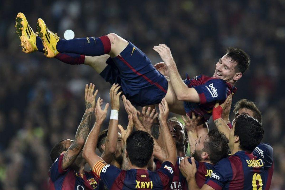 Es el máximo goleador histórico en la competencia ibérica Foto:AFP. Imagen Por: