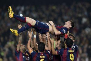Superó al vasco Telmo Zarra, quien registraba 251 tantos Foto:AFP. Imagen Por: