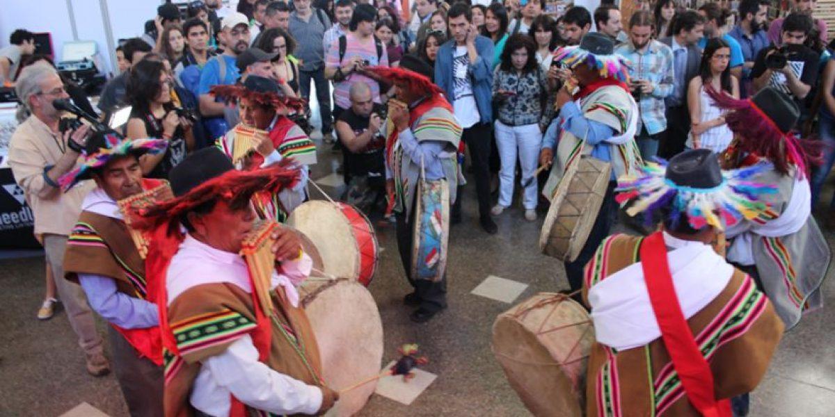 Con sikuris aimaras, se inicia la quinta versión de la Feria Pulsar