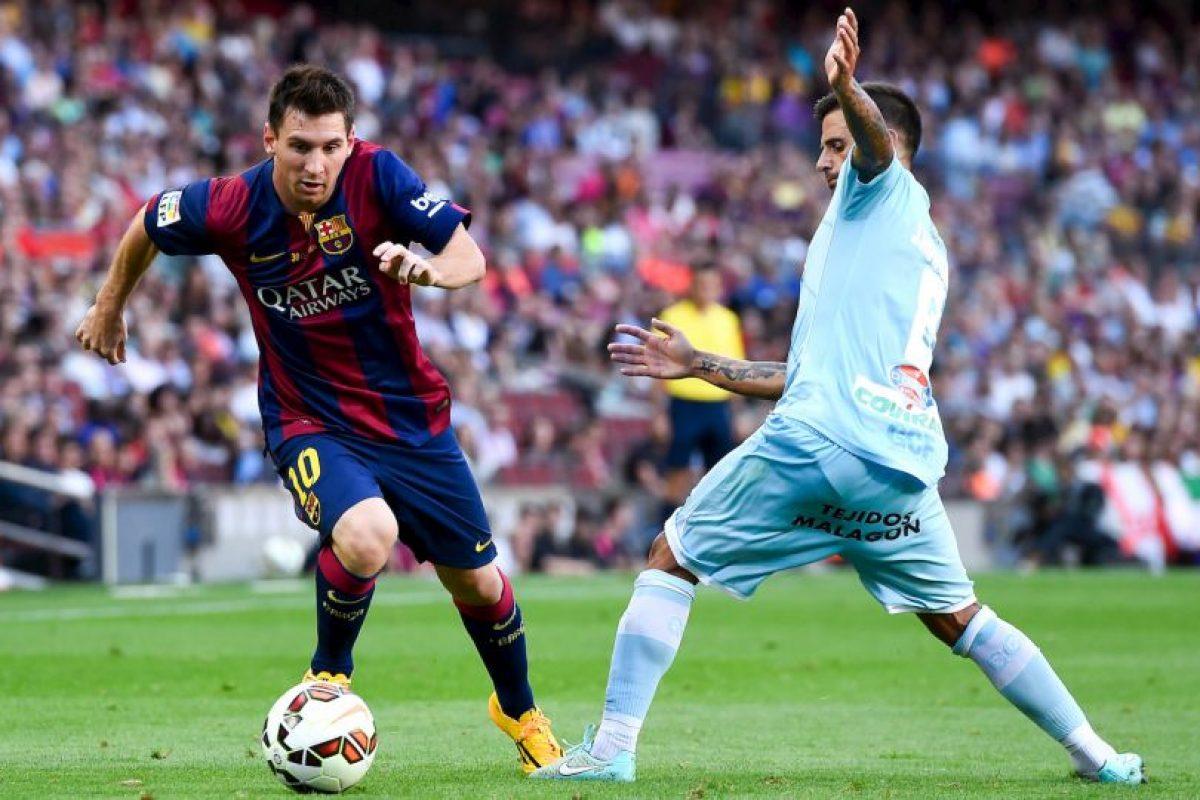 Único futbolista en la historia en ganar la distinicón al Goleador mundial más efectivo en primera división (2011 y 2012) Foto:Getty Images. Imagen Por: