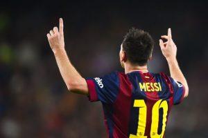 Máximo goleador como local en una temporada en la Liga: 35 goles en el Camp Nou en la Liga 2011/12. Foto:Getty Images. Imagen Por: