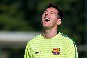 rimero en marcar en una vuelta entera en la Liga: 30 goles en 19 jornadas seguidas en la Liga 2012/13, de la 11 a la 29. Foto:Getty Images. Imagen Por: