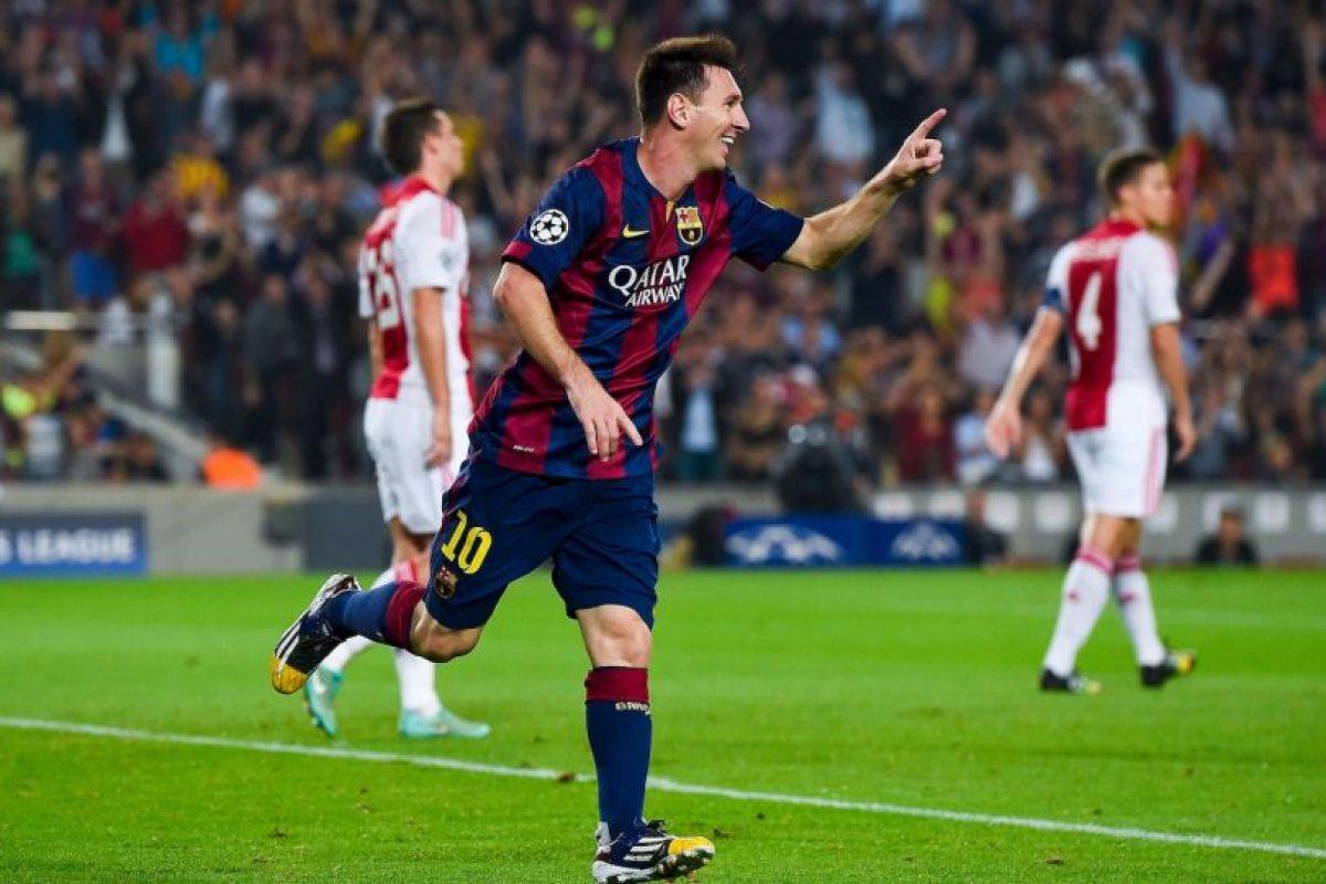 Único jugador en lograr en una misma temporada el Balón de Oro, el FIFA World Player, el Trofeo Pichichi y la Bota de Oro (2011-12) Foto:Getty Images. Imagen Por: