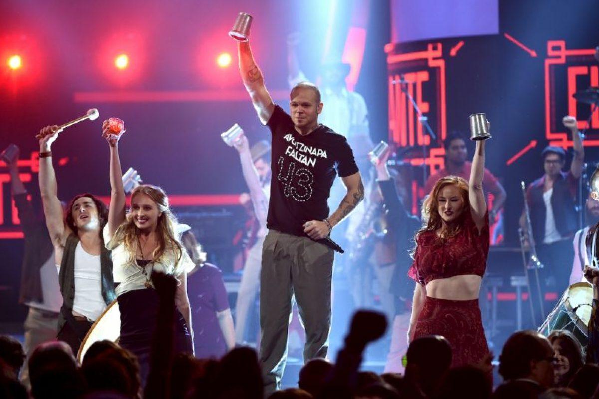 Calle 13 es una banda de rap y rock fusión de Puerto Rico Foto:Getty Images. Imagen Por: