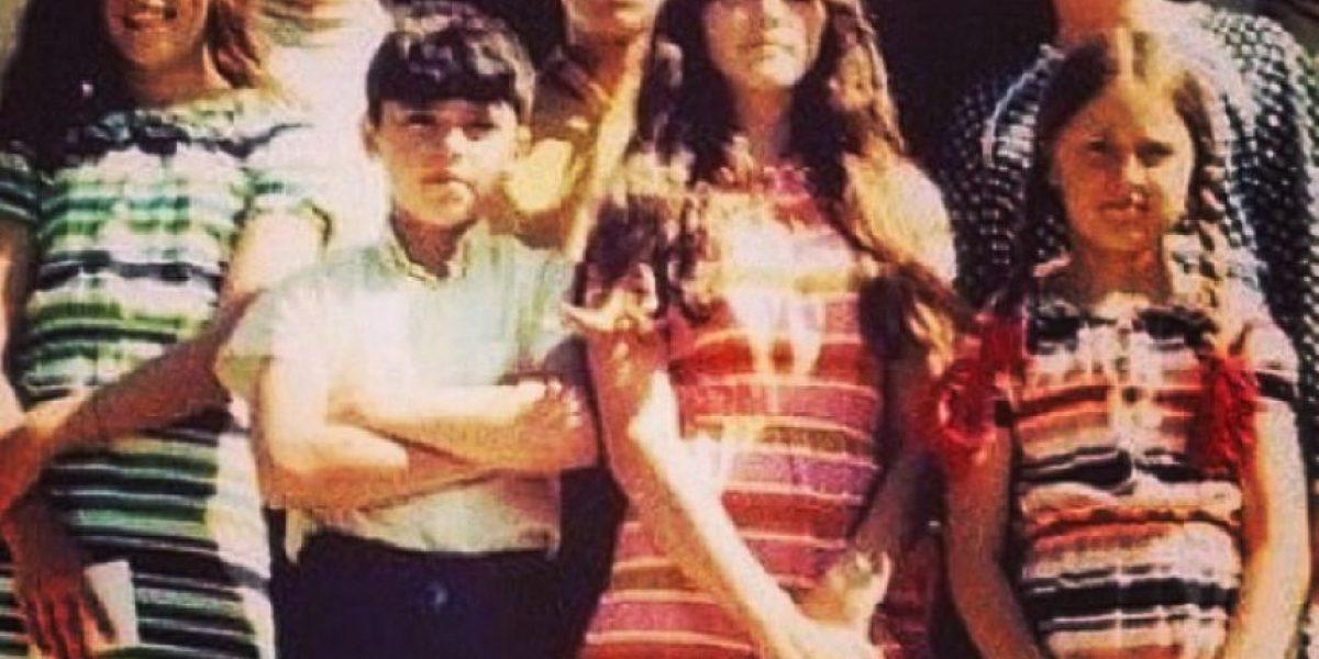 ¿Reconocen a Madonna en esta fotografía?