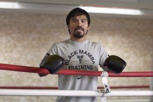 Manny Pacquiao se emociona al pensar en una pelea ante Floyd Mayweather. Foto:Foot Locker. Imagen Por: