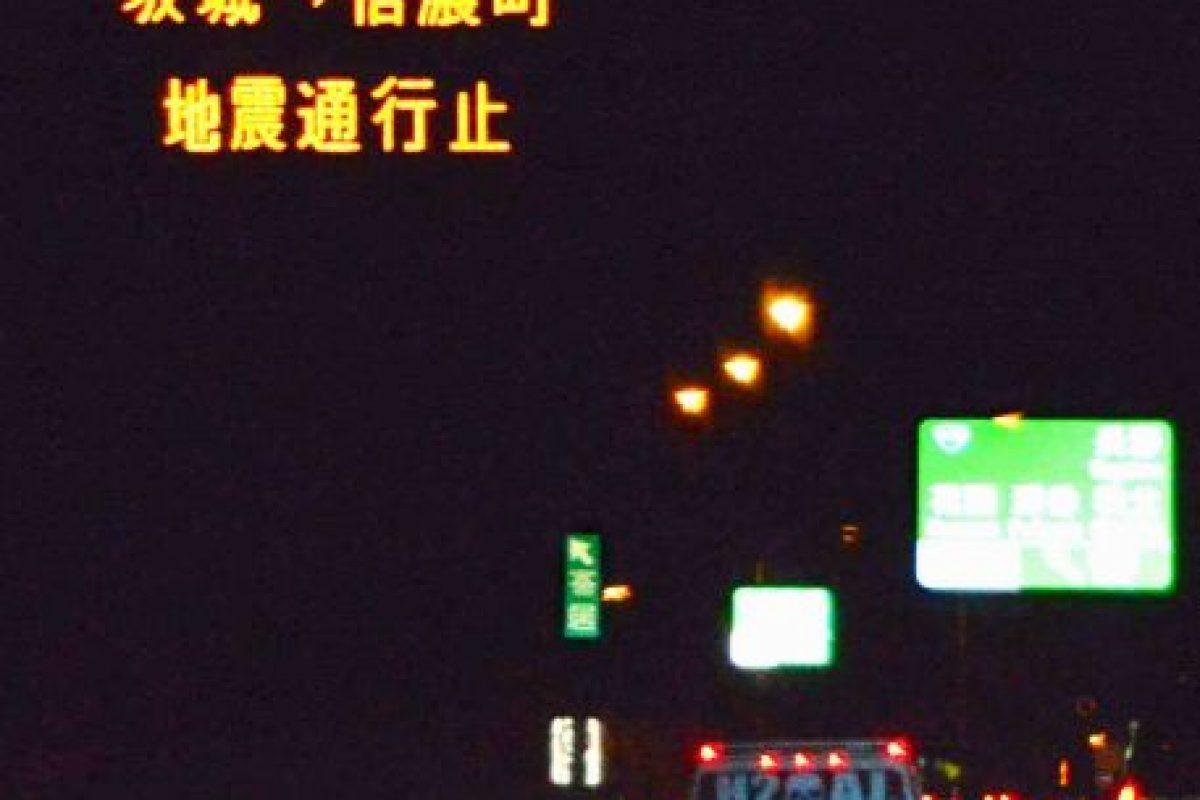 Las autopistas se cerraron Foto:AP. Imagen Por:
