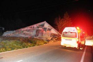 El daño que provocó el sismo fue notorio Foto:AP. Imagen Por: