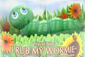 """""""I Rub My Wormie"""" también es un vibrador, aunque parezca un inocente juguete Foto:BigSeazeToys. Imagen Por:"""
