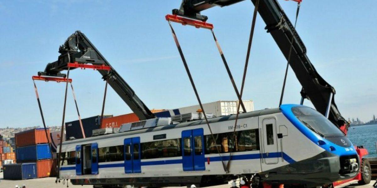 Llegaron nuevo vagones para tren