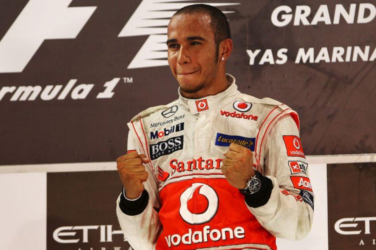 El 13 de noviembre de 2011 ganó el GP de Abu Dhabi Foto:Getty Images. Imagen Por:
