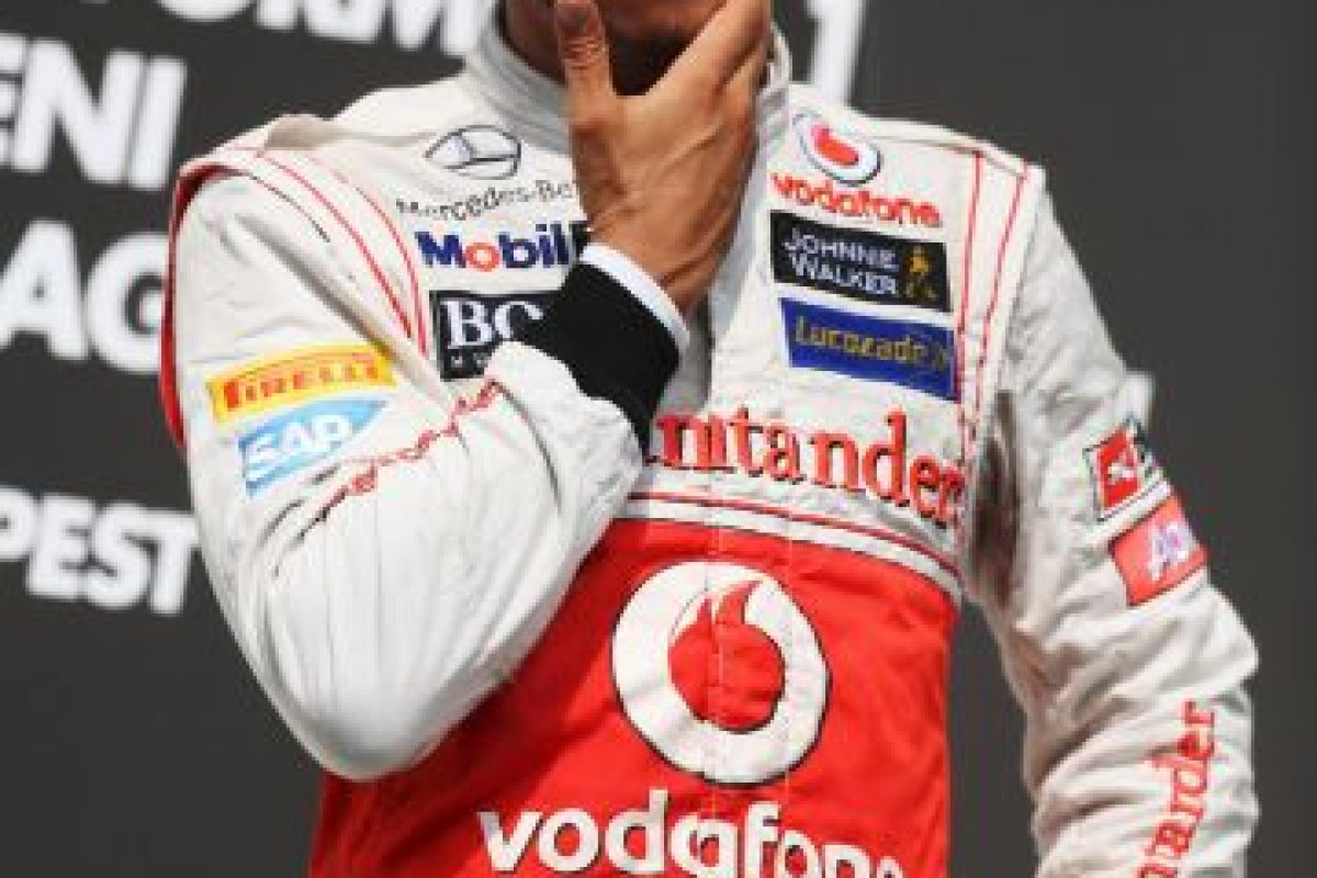 El 29 de julio de 2012 fue el más rápido en el GP de Hungría Foto:Getty Images. Imagen Por: