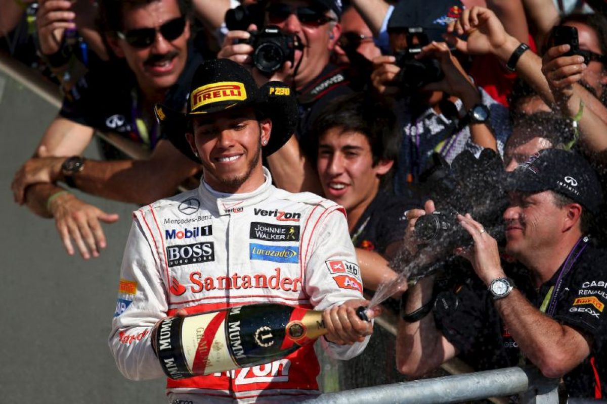 El 18 de noviembre de 2012 fue el mejor en el GP de Estados Unidos Foto:Getty Images. Imagen Por: