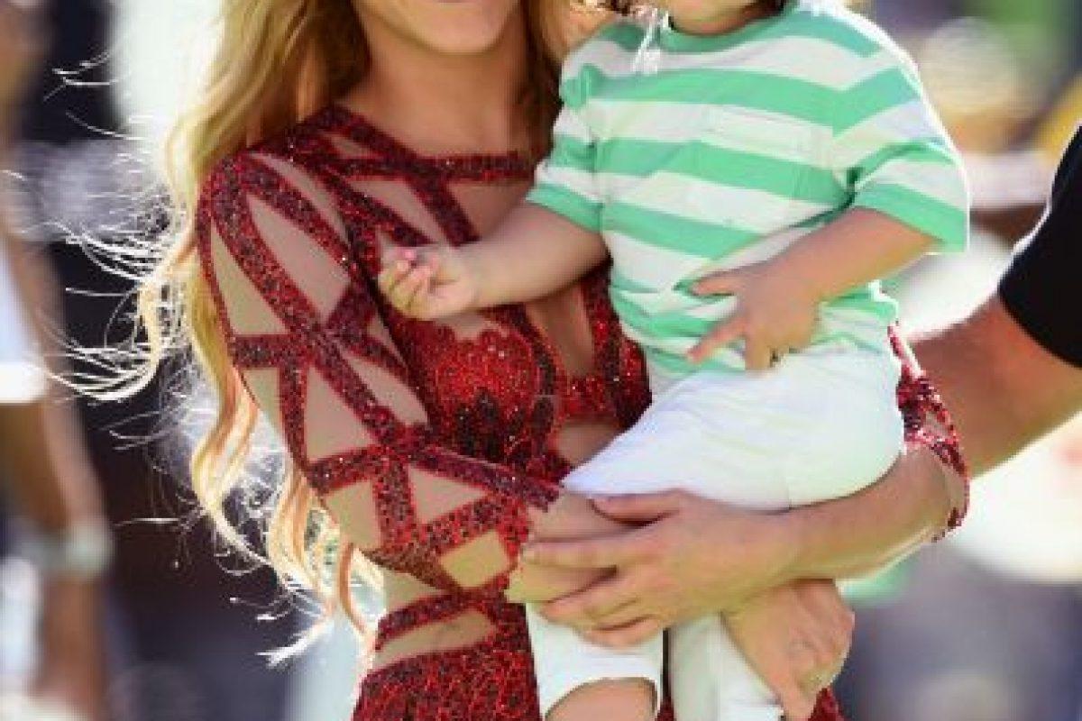 El nombre completo de la cantante es Shakira Isabel Mebarak Ripoll Foto:Getty Images. Imagen Por: