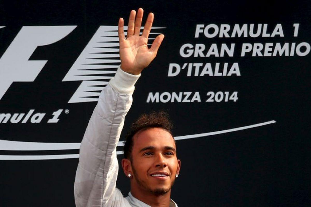 El 7 de septiembre dejó a todos atrás en el GP de Italia Foto:Getty Images. Imagen Por:
