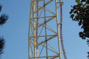 Parque: Cedar Point. Localización: Sandusky, Ohio, EE.UU. Altura: 128 m. Velocidad: 193 km/h. Longitud: 853 m. Caída: 122 m. Foto:Wikimedia. Imagen Por: