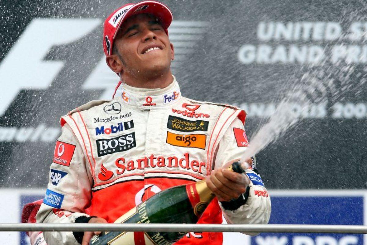 El 17 de junio de 2007 ganó en el GP de Estados Unidos Foto:Getty Images. Imagen Por: