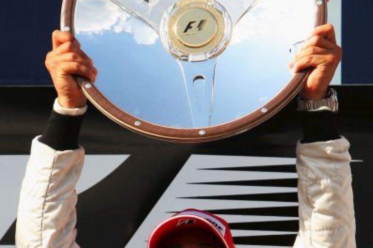 El quinto triunfo de Hamilton en la F1: el 16 de marzo de 2008 en el GP de Australia Foto:Getty Images. Imagen Por: