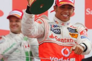 El 6 de julio de 2008 se impuso en el GP de Gran Bretaña, primer triunfo en casa Foto:Getty Images. Imagen Por: