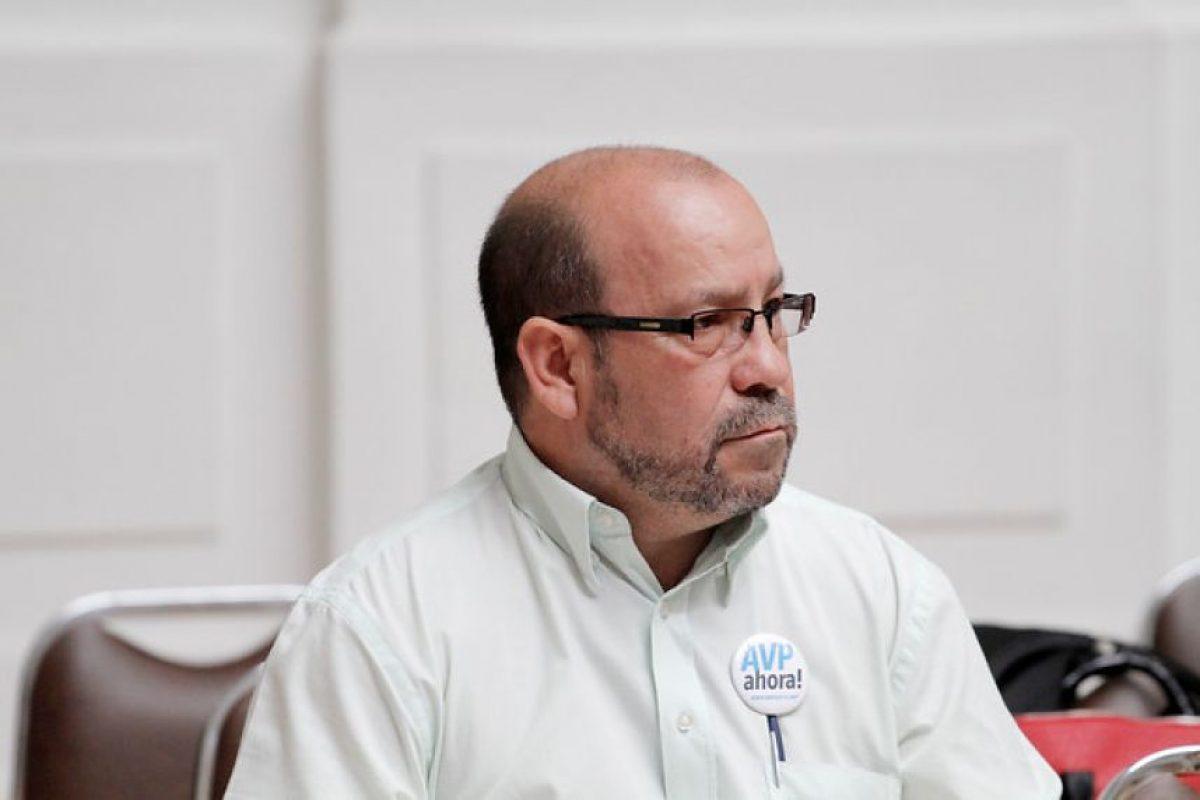 Rolando Jiménez, pdte. Movimiento de Integración y Liberación Homosexual. Foto:Agencia UNO. Imagen Por: