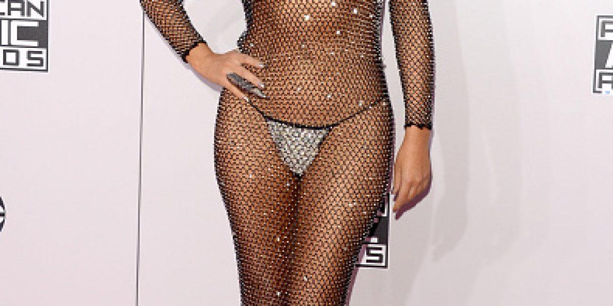 A esta famosa se le olvidó el vestuario para los American Music Awards
