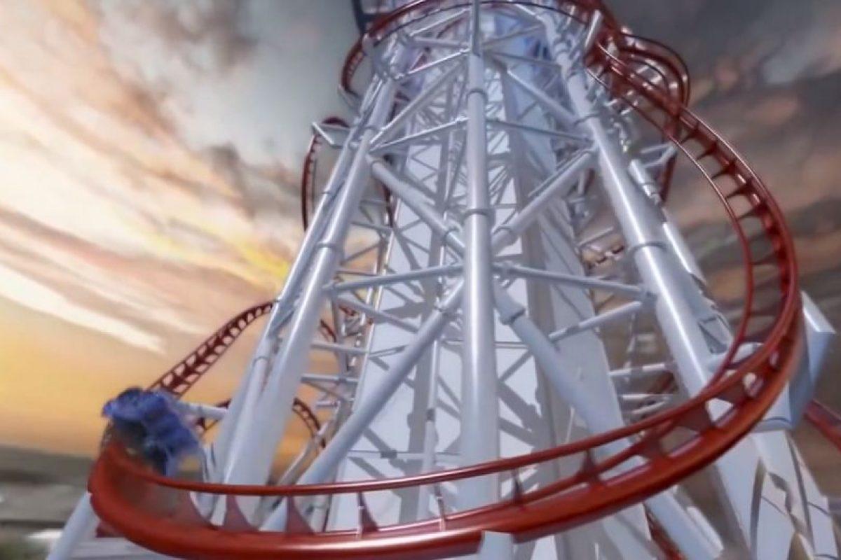 Tendrá una altura de 150 metros (500 pies) y una longitud de mil 600 metros (5,200 pies) Foto:YouTube/ animación. Imagen Por: