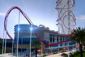 Skyscraper se ubicará en el parque de diversiones SkyPlex complex en Orlando, Florida Foto:YouTube/ animación. Imagen Por: