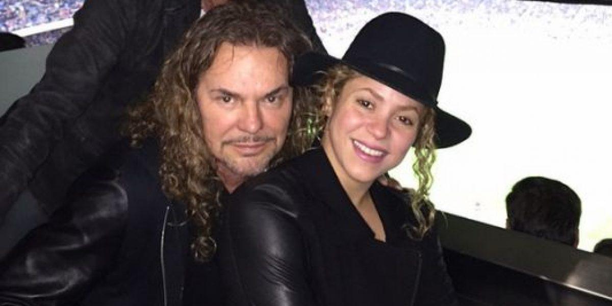 FOTO: Shakira comparte algo más que una amistad con Fher de Maná